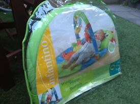 Infantine baby gym and playmat
