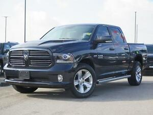"2014 Ram 1500 Sport! Crew! 8.4"" Screen! Heated Seats!"
