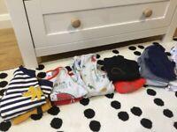 Bundle baby boy clothes 9-12 months