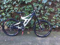 Scott medium frame downhill mountain bike