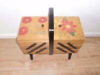 metamorphic sewing box