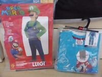 Super Mario dress up costume age 10-12