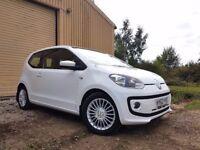 Volkswagen UP! 1.0 BlueMotion Tech High Up Hatchback p/x welcome *£0.00*HPI CLEAR*FULL SERVICE HI