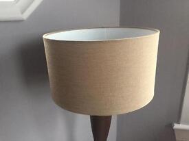 Lamp shade brown 35cm diameter