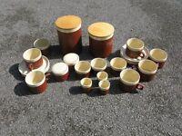 Hornsea 'Cinnamon' Tableware