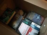 26 crime fiction paperbacks