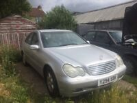 2001 Mercedes-Benz C220 CDI FOR SALE £1000