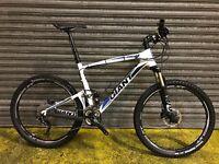 "Giant Anthem 26"" carbon full suspension mountain bike. Size Large"