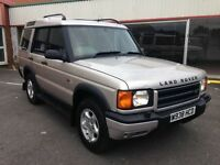 Landrover Discovery V8, full Leather, 2000 px possible