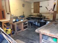 Small workshop to rent
