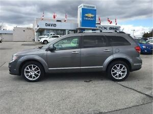 2012 Dodge Journey R/T AWD, LEATHER, 19 ALLYS, LOCAL TRADE!!