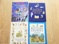 5 LARGE HARDBACK CHILDREN KIDS BOOKS,WINNIE WITCH,BEATRIX POTTER,WIND IN THE WILLOWS,BEDTIME STORIES