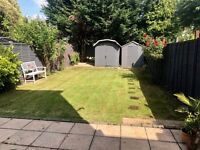 Spacious, modern 2 double bedroom garden flat in New Malden, close to Motspur Park station