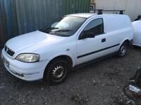 Vauxhall Astra Van BREAKING spares for repair 1.7 Dti 2002