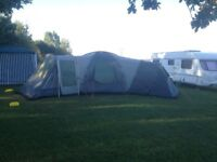 SOLD STC - Khyam Nebraska 6 berth Tent