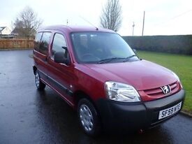 Wheelchair access Peugeot Partner. Only 16500 miles. Service history. Excellent condition.