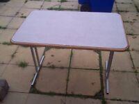 free standing fold away caravan table