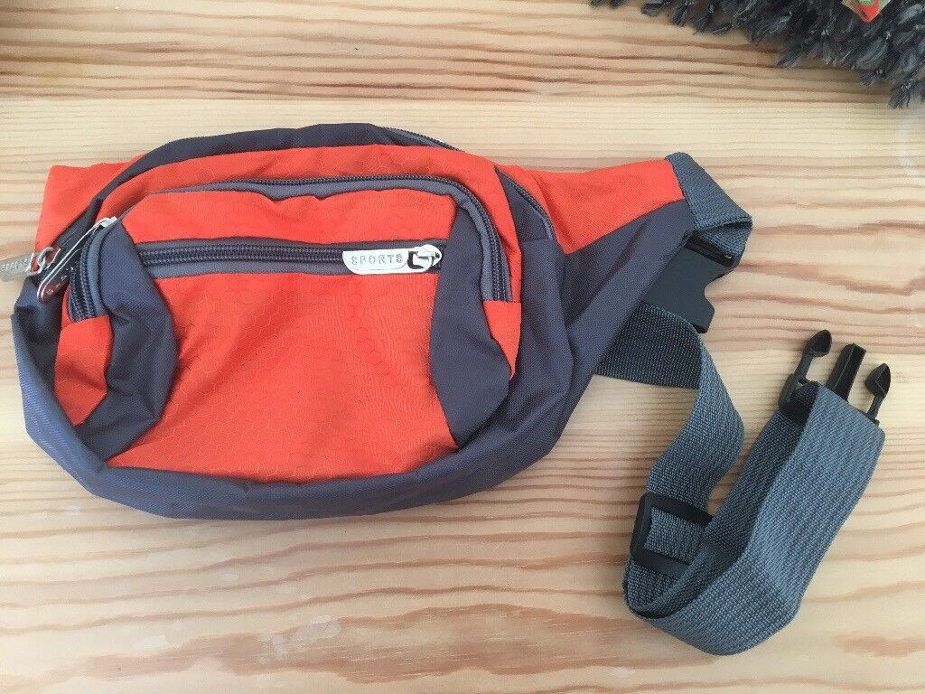 Orange Grey Nylon Belt Bag   in Totnes, Devon   Gumtree 3cef0809b4