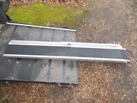 MOTOR BIKE OR BICYCLE CAR/ VAN RAMP ALLOY