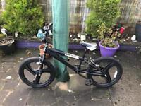 "2 x BMX Bikes in black 20"" wheels"