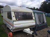 4 Berth Caravan with full Awning
