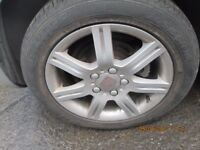 Seat Leon 2007 Set of 4 Alloys and Tyres 205/55 16.
