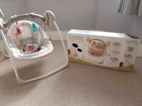 Baby Swing | Comfort and Harmony Bright Starts Cosy Kingdom Baby Swing
