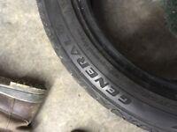2x 195/45/15 Tyres