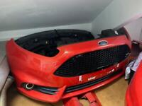 Ford Fiesta st3 front bumper molten orange