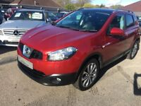 2011/11 NISSAN QASHQAI 2.0 DCI TEKNA 4 WD, FULL BLACK LEATHER SEATS, REVERSE CAMERA, PANORAMIC ROOF