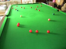 Snooker Table, full size