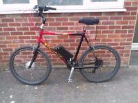 Mens Electric Bike, Bycycle