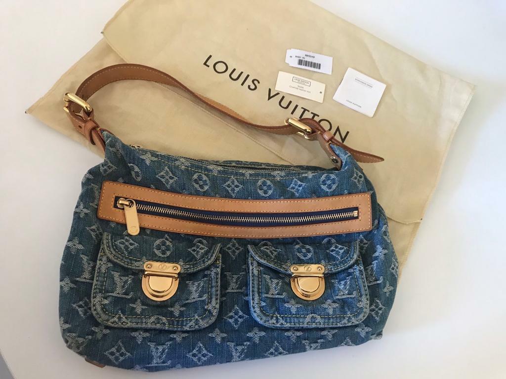 0811ab155c00 Louis Vuitton denim bag. South Kensington ...
