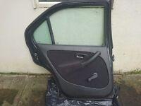 MG ZS 180 / Rover 45 saloon rear NS (passenger side) door (from 2002 reg)