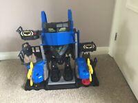 Imaginext Robo Batcave DC Super Friends Playset