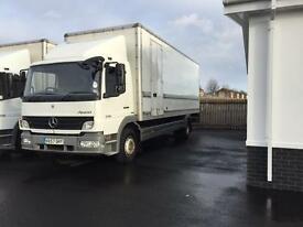 Mercedes Benz atego 13/18 4x2 box van