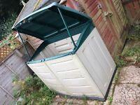 Outside Garden Storage Unit