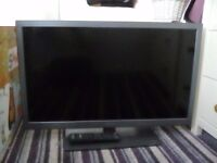 "Bush 34"" TV with freeview"
