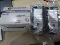 HP compatible 350XL & 351XL cartridges
