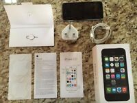 Apple iPhone 5s 16gb Unlocked Space Gray Fully Boxed Excellent Condition!