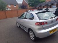 Seat ibiza 1.4 2005 3dr Low costs. Quick sale. Just passed MOT