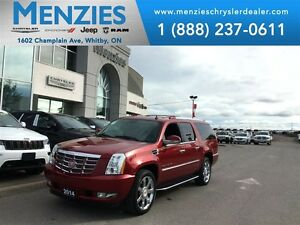 2014 Cadillac Escalade ESV Backup Cam, Navi, Bluetooth, DVD, Cle