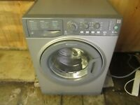 hotpoint wmal641 washing machine refurbished 1400 spin graphite colour 6kg NICE CLEAN CONDITION £80