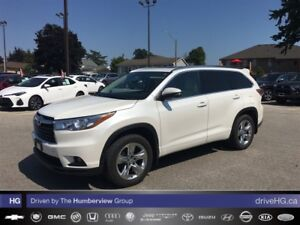 2015 Toyota Highlander Limited   NO ACCIDENTS   LOADED LUXURY  