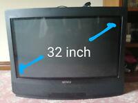 """Sony Trinitron 32"""" Widescreen CRT TV KV-32WF1U - retro gaming vintage nicam"""