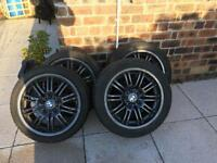 Winter Tyres for BMW M3 (offset) with spare winter wheels