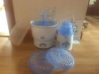 Avent steriliser and bottle warmer