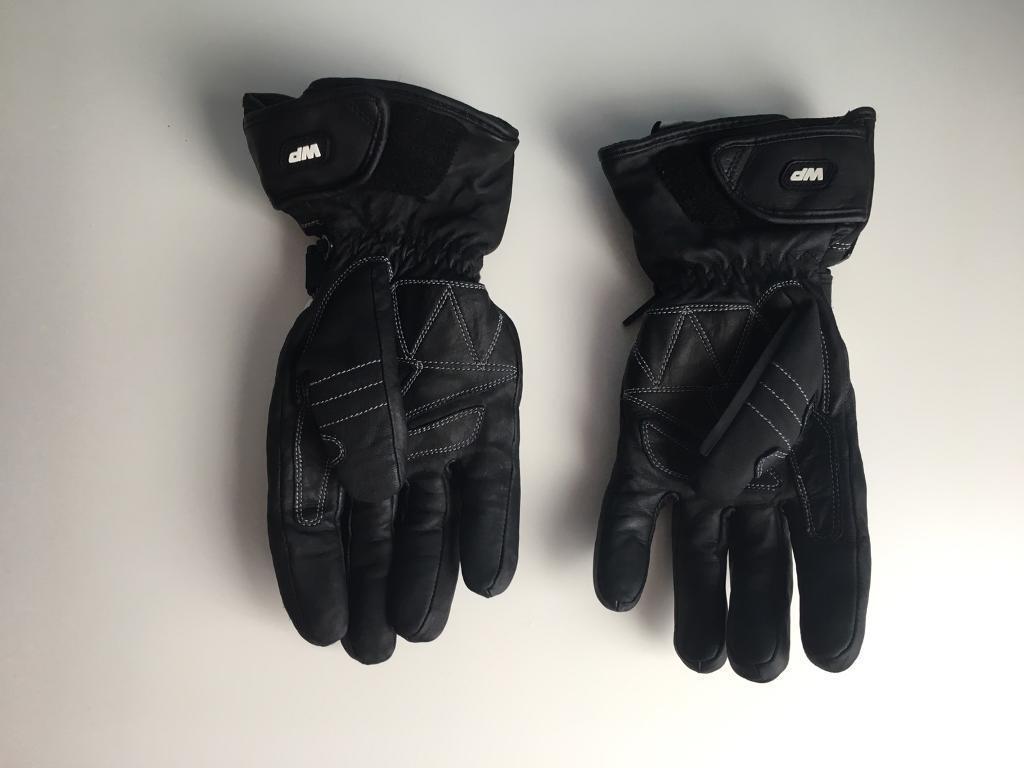 Motorcycle leather gloves waterproof - Spada Motorcycle Leather Gloves Storm Waterproof Black In Carlton Nottinghamshire Gumtree