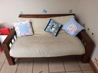 Great futon / double sofa bed - slightly broken but easily fixable - FREE!