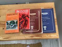 Triumph Bonneville replacement parts catalogues